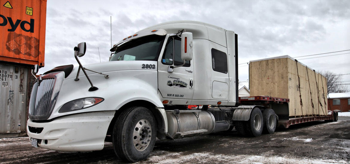 Camionnages Giroux uses DispatchMax - Fleet and Transportation Management Software